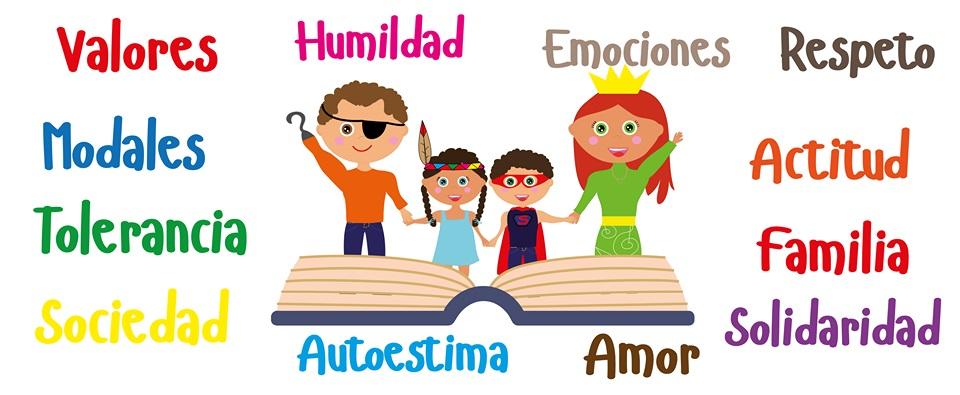 valores en infantes